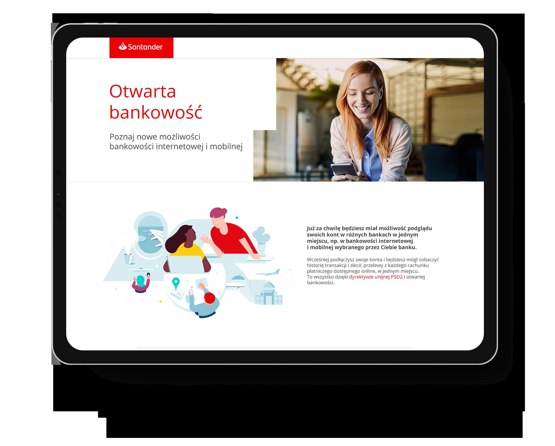 Santander Otwarta bankowość
