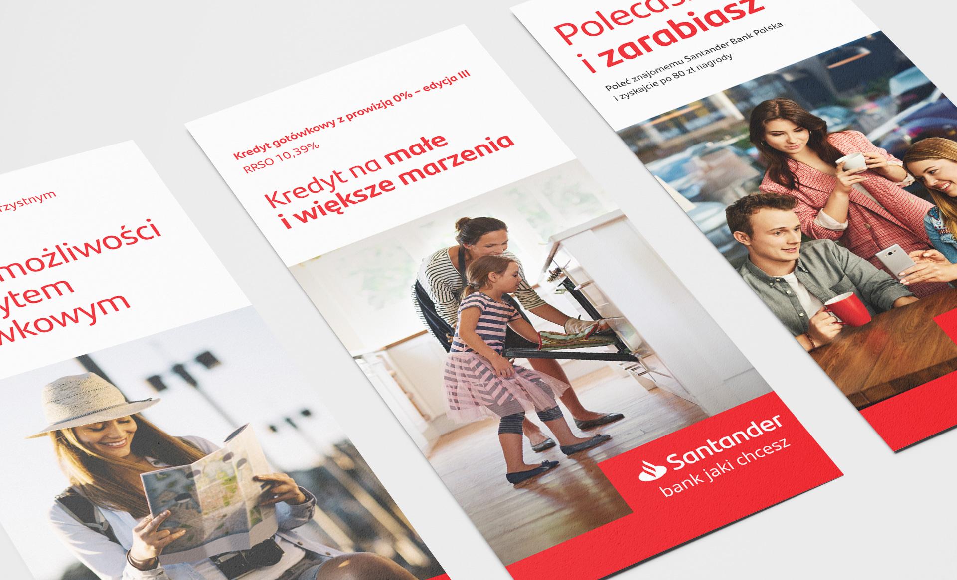 Santander POS materials